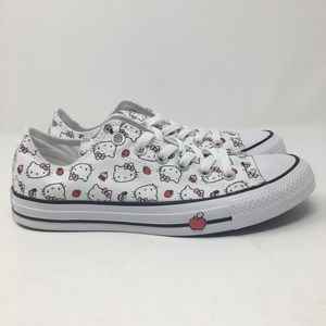 Converse Hello Kitty Chuck Taylor Low White OC11